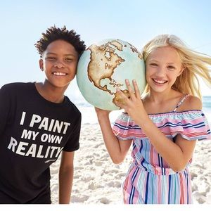 "H&M ""I paint my own reality"" unicef  t-shirt"